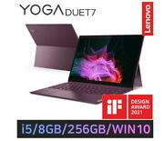 Lenovo Tablet Pc Yoga Duet7 Core I5 10nd Wifi 256gb 810g 9.19mm 4 Core 8threads