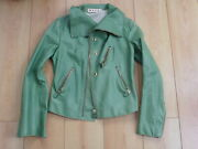Marni Womanand039s 1980s Vintage Soft Leather Jacket Made In Italy