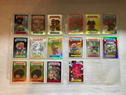 2013 Topps Chrome Garbage Pail Kids Lot 16 Refractor Cards Serial 'd