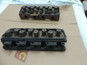 Ford 351c 2v 2-barrel Cylinder Heads D1ae 1971 Open Chamber 2 Available