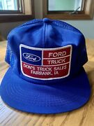 Vintage Ford Truck Mesh Trucker Hat K Product Made In Usa