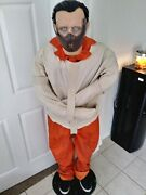 Halloween Animatronic Gemmy Life-sized Hannibal Lecter The Silence Of The Lambs