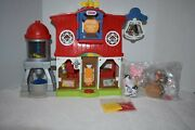 Fisher-price Little People Caring For Animals Farm Playset Pig Chicken Horse Cow