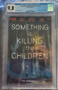 Something Is Killing The Children 1 First Print Main Cover James Tynion Cgc 9.8