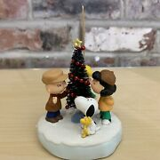 Peanuts Snoopy Hallmark Christmas Ornament The Amazing Little Tree Collectible