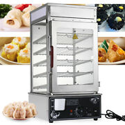 1.2kw Commercial Electric Hot Dog Bread Steamer Machine And 60 Bun Warmer Cooker