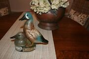1980 Duck's Unlimited Jim Beam Decanter Mint Great For A Sports Cottage