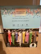 24 Gemmy Orchestra Of Lights Multi-function Color-changing Led Icicle Lights