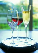 Pair / Set Of 2 Waterford Crystal Lismore Essence Champagne Flute Glass Rrp Andpound119