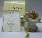Lenox Christmas Gift Ornament An Angel All My Own Mib Coa Can Be Personalized