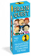 Brain Quest Grade 1, Revised 4th Edition 750 Questions And Answers To