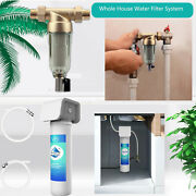 Whole House Spin Down Sediment Water Pre Filter / Under Sink Water Filter System