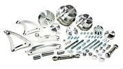 March Performance 40525 Aluminum Serpentine Deluxe Pulley Kit Fits Mopar Rb