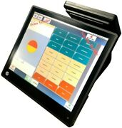 Pos 17 All In One Hp Retail Rp7, I5 4gb, 120 Gb Ssd, Grade A, Customer Display