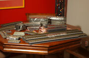 Mth Rail King Realtrax O Gauge 67pcs Curve And Straight And More Track Lot