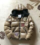 Moncler Down Jacket Super Rare Beautiful Regular K2 Special With Patches Used I