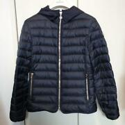 Moncler Down Jacket 14a Light Used In Japan No.513