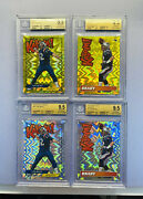 Tom Brady Gold Kaboom Bgs 9.5 Collection 2018 And 2019 2x Golds 2x Silvers Read 👀