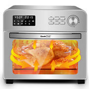 24qt Countertop Convection Air Fryer Rotisserie Dehydrator Oilless Toaster Oven