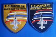 F5 Upgrade V.2 Patch - 2 Patches With Avelcro Adhesive Rare