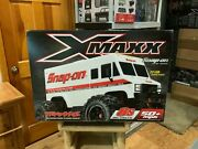 New Snap-on Tools Traxxas Xmaxx 8s Rtr Snap-on Van Limited Edition W/ Battery