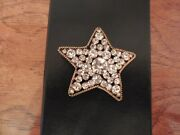 Crystal Star Brooch/pin {1983} Collection