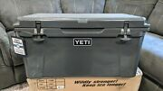Yeti Tundra 65 Cooler In Charcoal - Brand New - Rare And Discontinued