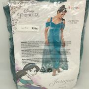 Disguise Jasmine Deluxe Womens Fairytale Teal Disney Princess Costume Size Xl