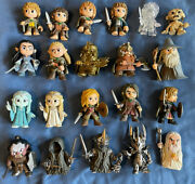 Lotr Lord Of The Rings Funko Mystery Mini Figure Complete Set Lot Rare Exclusive