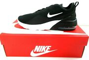 Nike Womenand039s Size 8 Air Max Motion 2 Black White Running Shoes Ao0352 007