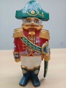 Wood Carved Made In Russiahandmade/handpainted Masquerade Christmas Nutcracker