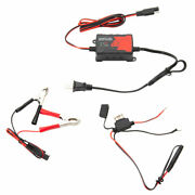 Tusk 12-volt Automatic Float Battery Charger Auto Maintainer Atv Utv Motorcycle