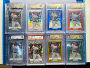 1/1 2012 Panini Prizm Gold Mike Trout Collection. Bgs 9.5/10s And Psa 10 26x Cards