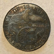 Colombia - 1844 Large Silver 8 Reales - Nice Coin