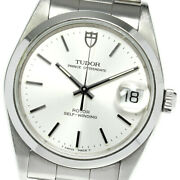 Tudor Date 74000n Cal.2824-2 Silver Dial Automatic Menand039s Watch_636434