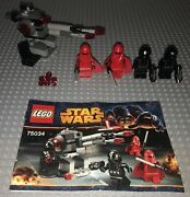 Lego 75034 Star Wars Death Star Troopers Complete Set Minifigures Manual