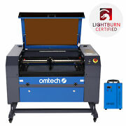 Omtech 60w 20x28 In Co2 Laser Engraver Cutter Marker With Cw-5202 Water Chiller