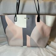 Kate Spade Abstract Geometric Large Tote Bag Pink