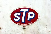 Vintage Stp Motor Oil Garage Cabinet Metal Circa 1960and039s-70and039s Advanced Display Co