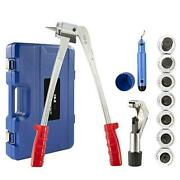 Co-z 11pc Tube Expander Tool Kit With Pipe Cutter Deburring Tool Chamfering