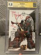 King Spawn 1 1250 Cgc Ss 9.8 Todd Mcfarlane In Hand 1293/1697