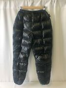 Western Mountaineering Flight Down Pants Black Size Small