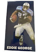 Eddie George Tennessee Titans Football Bobblehead 2012 Mint Only For Stm