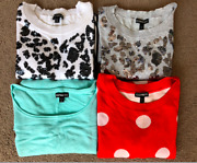 Lot Of 4 Express Women's Sweaters Tops Size S And Xs