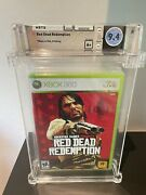Red Dead Redemption Wata 9.4 A+ Sealed Graded Xbox 360