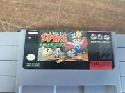 Twisted Tales Of Spike Mcfang Snes Cart Only Authentic