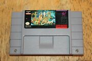 E.v.o. Search For Eden For Super Nintendo. Authentic, Cleaned And Tested.