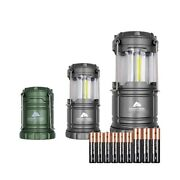Ozark Trail 3 Pack Led Camping Lanterns, Batteries Included