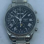 Longines Master Collection Moonphase Automatic Chronograph Ref L2.673.4.51.6
