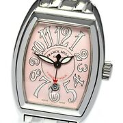Franck Muller Conquistador Pink Dial Automatic Ladies Watch_610174